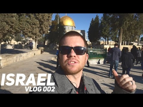 trouble with security | ISRAEL TRAVEL VLOG 002
