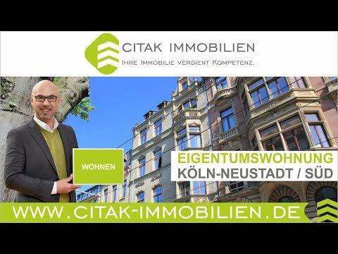Immobilien Köln - Wohnung in Neustadt-Süd in direkter Nähe zum Volksgarten zu verkaufen
