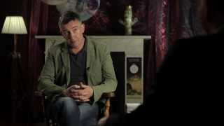 Steve Coogan in the Corona Fastnet Short Film Festival Greenroom