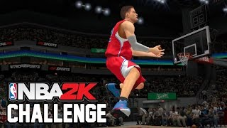 NBA2K Challenge - Giant Player Dunk Contest!
