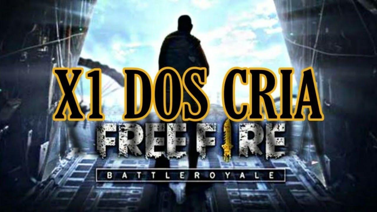 FREE FIRE AO VIVO X1 DOS CRIA AO VIVO -REVELAÇOES - DIAMANTES LIVE ON