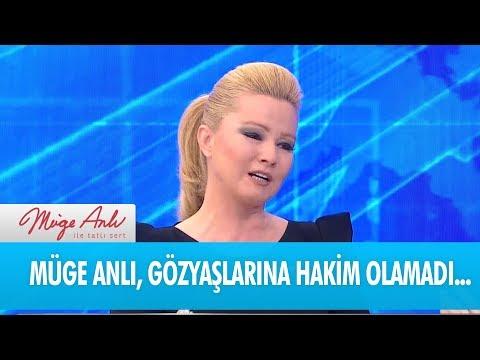 Müge Anlı, canlı yayında göz yaşlarını tutamadı - Müge Anlı ile Tatlı Sert 18 Aralık 2018