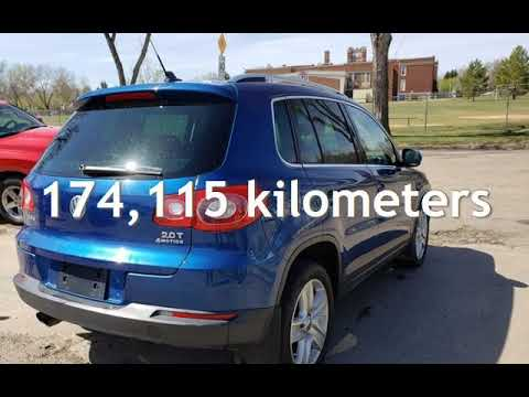 2010 Volkswagen Tiguan SE-AWD-LEATHER-NO ACCIDENTS-LOW MONTHLY PAYMENTS!! for sale in Edmonton, AB