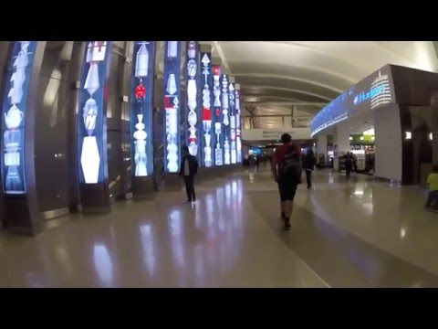 Renovated Los Angeles International Airport - LAX Tom Bradle