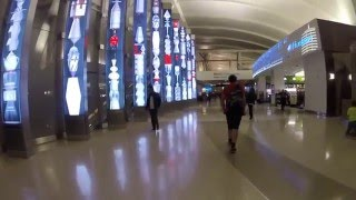 Renovated Los Angeles International Airport - LAX Tom Bradley Terminal Walkaround