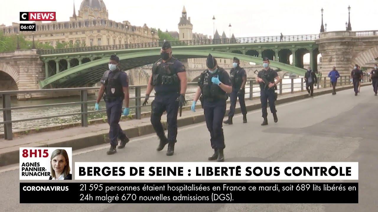 Berges de Seine : liberté sous contrôle pour les Parisiens