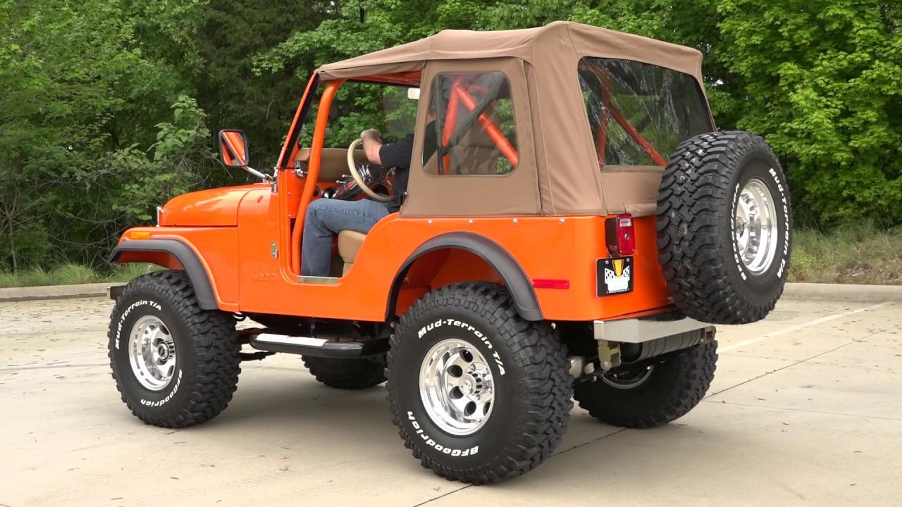 135798    1978 Jeep Cj-5 Sold