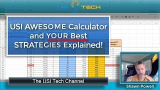 USI Tech Calculator and YOUR Best USI Tech Strategies Simple Terms!