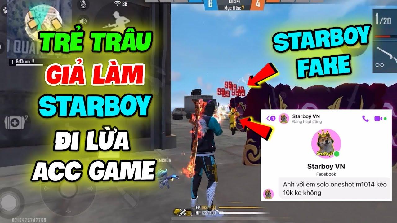 (Free Fire) Trẻ Trâu Giả Làm Starboy Lừa Đảo Acc Game, Gạ Bé Chanh Kèo OneShot M1014 Và Cái Kết