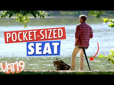Sitpack: World's Most Compact Foldable Seat