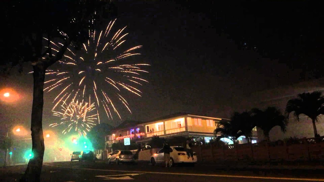 happy new year 2016 from hawaii youtube