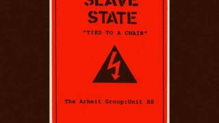 SLAVE STATE-TIED TO A CHAIR