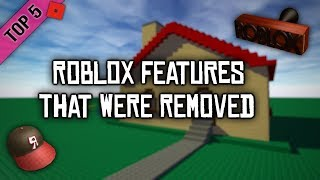 Top 5 ROBLOX Features That Were Removed