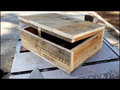 How To Make A Wooden Box 269 Doovi