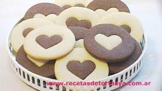 Chocolate and Vanilla Cookies  - Recetas de Tortas YA! by Florencia Benetti