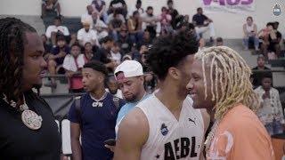 Lil Durk x Tee Grizzley AEBL Basketball League Lou Williams Quinn Cook Championship Game Highlitghts