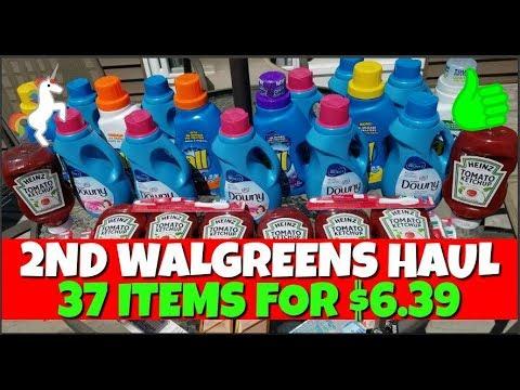 2nd Walgreens Haul April 22nd-28th 2018
