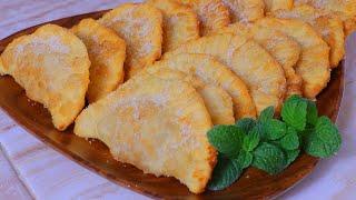 Empanadas dulces/Masa de 3 ingredientes sin horno/rellenas de MERMELADA