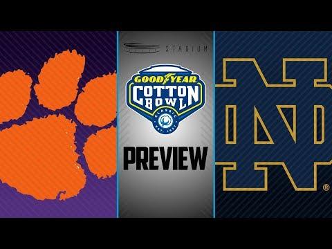 Cotton Bowl Preview: Clemson Vs. Notre Dame | Stadium