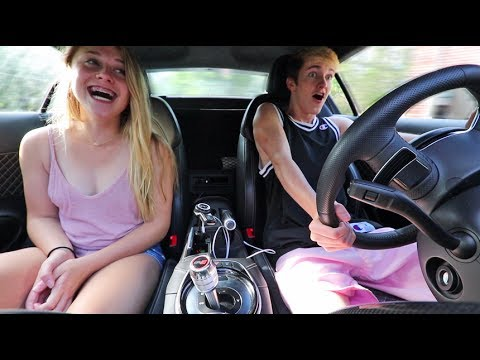 GIRLFRIEND REACTS TO AUDI R8 LAUNCH!