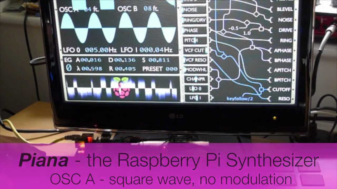 Piana – the Raspberry Pi synthesizer – Raspberry Pi Pod