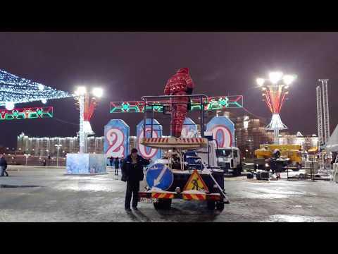 Christmas in Minsk, Belarus (2018)