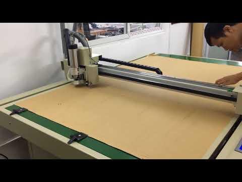 Máy cắt rập cứng (Mica) cho may mặc, rập giấy, in sơ đồ, cắt mika