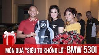 """Diễn giả Phạm Thành Long bất ngờ trước món quà """"Siêu to khổng lồ"""" BMW 530i từ học trò Đào Minh Châu"""
