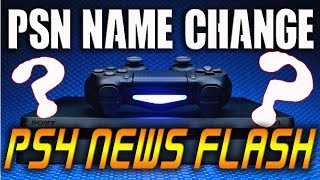"PSN NAME CHANGES?! - NEW FREE PS4 GAME ""Lite""  PS4 NEWS FLASH"