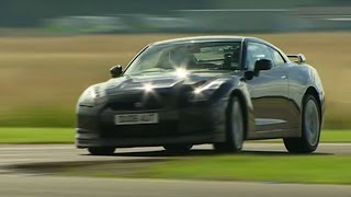 Nissan GTR Power Lap - Top Gear - The Stig - BBC