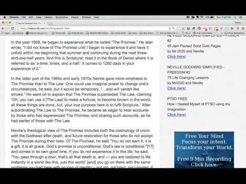 Neville Goddard Wikipedia -Part 4