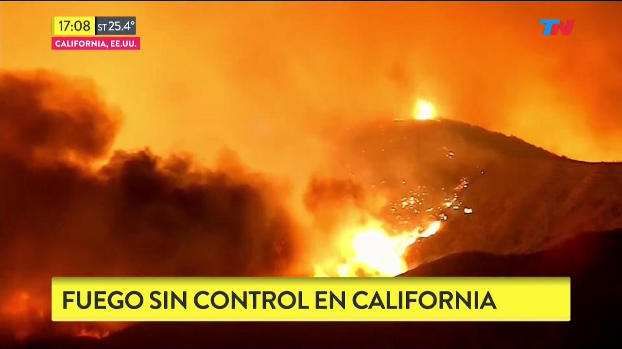 Incendio fuera de control en california youtube for Fuera de control dmax