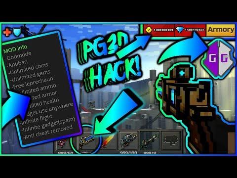 Pixel Gun 3D- Gadget Spam Hack