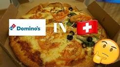 Trying Domino's Pizza in Switzerland!!!