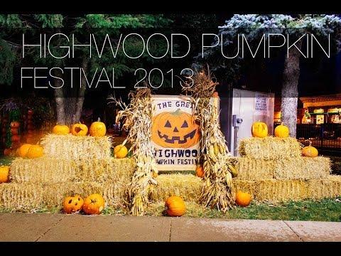 Видео, Хэллоуин США. Фестиваль тыкв в Америке. Highwood Pumpkin 2013