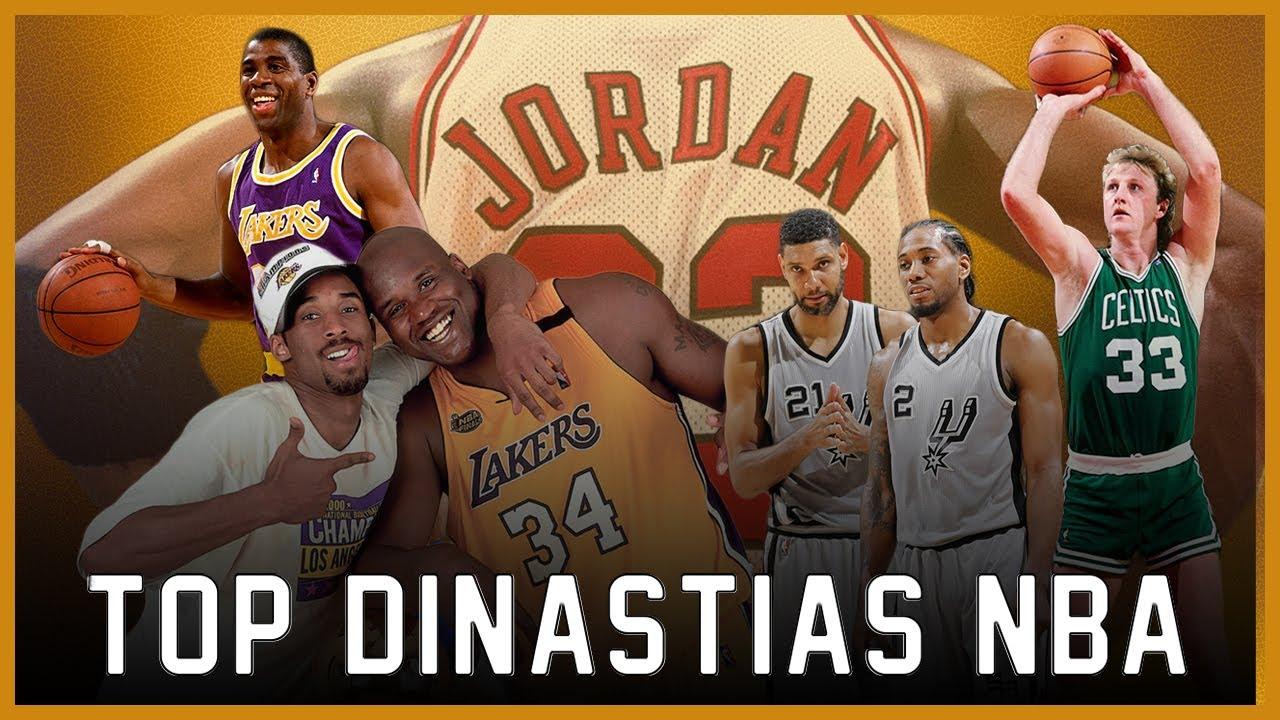 Las 10 Mejores Dinastías en la Historia de la NBA