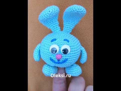 Крош вязаный крючком Смешики. Gogoriki  kikoriki crochet