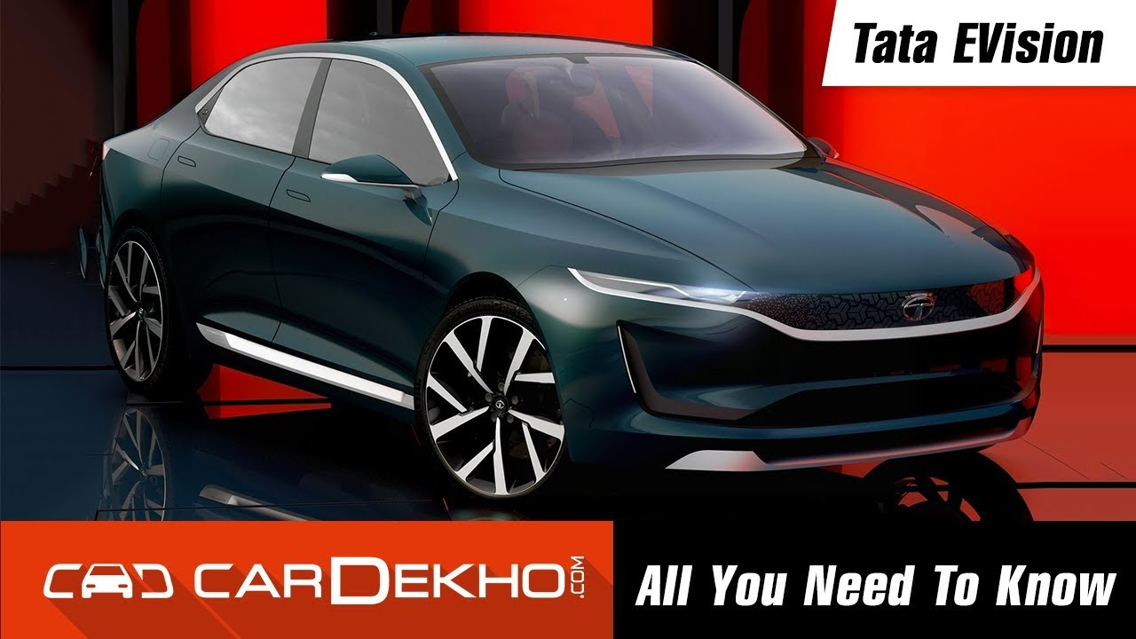 Tata Evision Electric Car Concept All You Need To Know Youtube