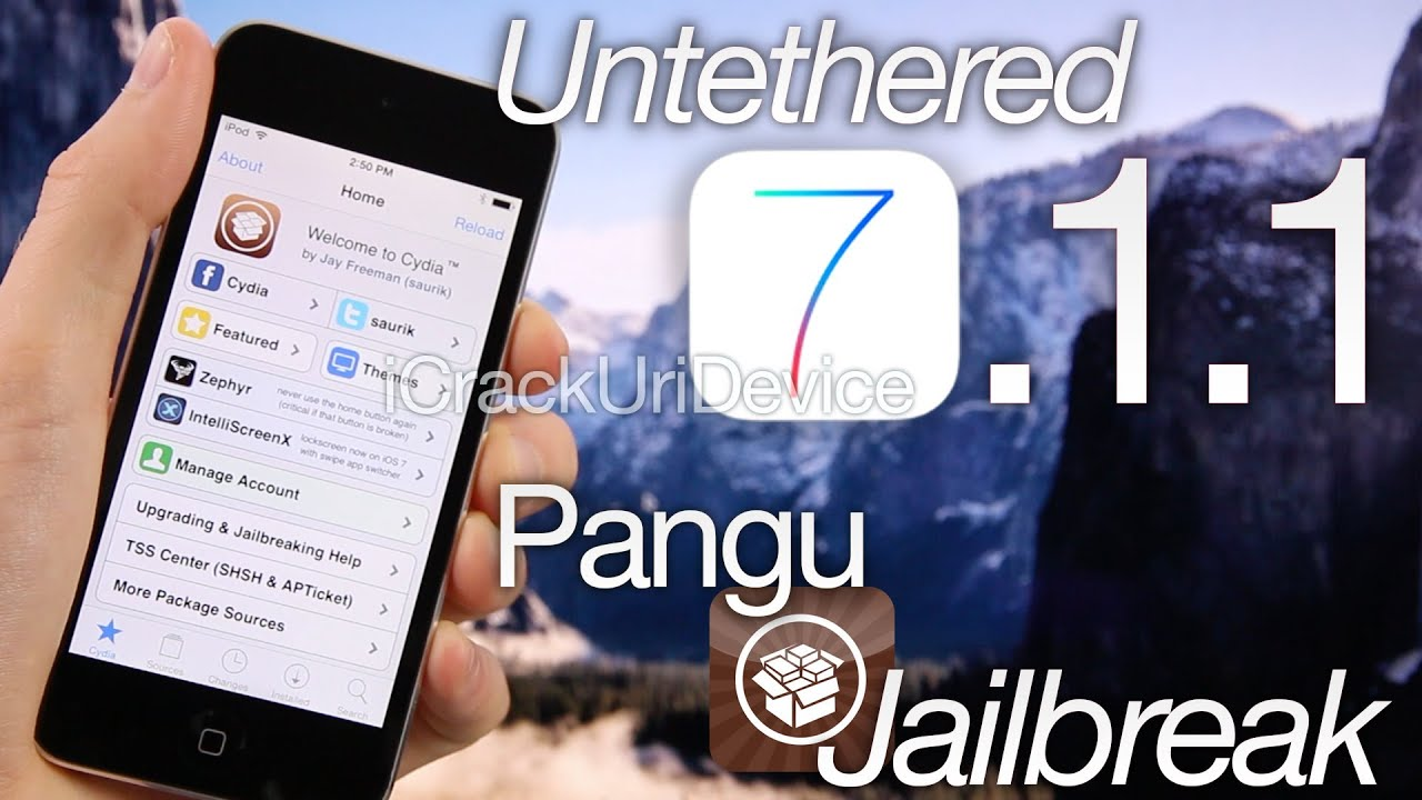 Jailbreak iOS 7.1.2 Untethered On iPhone, iPad, iPod touch [How-To Tutorial]