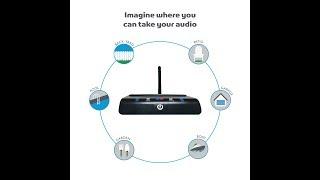Miccus TX Pro - LONG RANGE Bluetooth Transmitter with aptX Low Latency