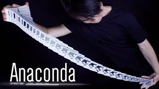 Anaconda - Dribble | Tutorial de Cardistry