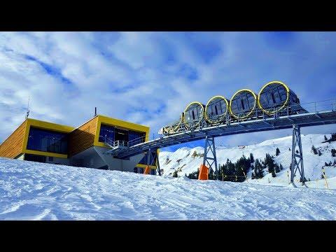 ( World Record )  Steepest funicular in Switzerland