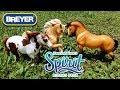 SPIRIT, BOOMERANG, & CHICA LINDA || Breyer Unboxing || Spirit Riding Free