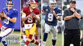 Who will win the NFC East: New York Giants or Dallas Cowboys? | Move the Sticks | NFL