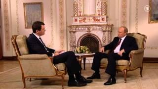 Oha !  Interview aus 2013 mit Wladimir Putin / Jörg Schönenborn (WDR)
