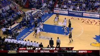 NCAA (1/3/2008) Kansas St. @ Kansas (Michael Beasley 39+14)