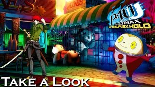 Persona 4 Arena Ultimax - X360 PS3 Gameplay (XBOX 360 720P) Take a Look