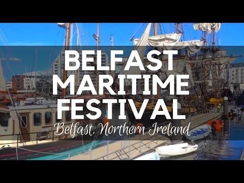 Belfast Maritime Festival -Tall Ships - Belfast Northern Ireland - Maritime Events Northern Ireland
