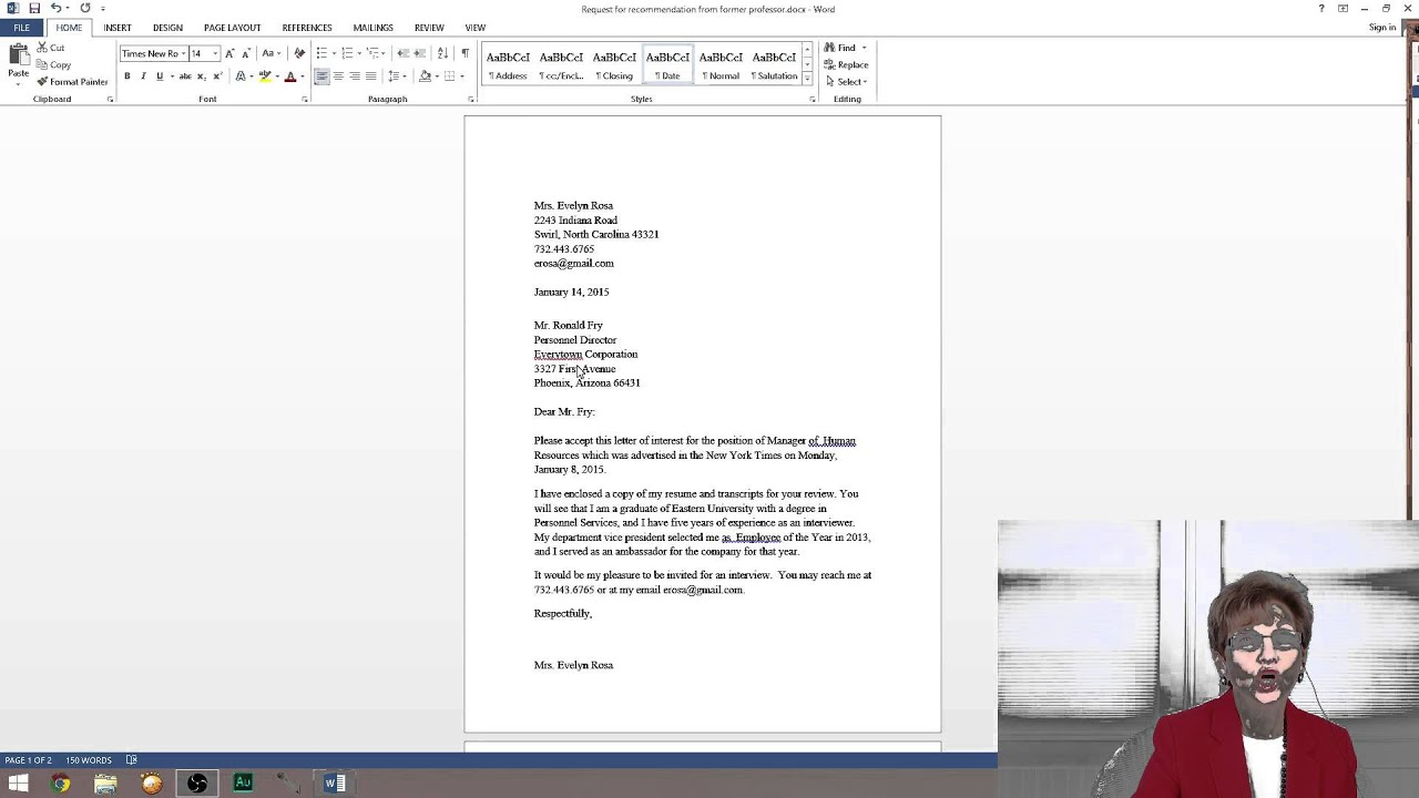 Create Letter Of Interest For The Job By Www.pearlswithjanice.com