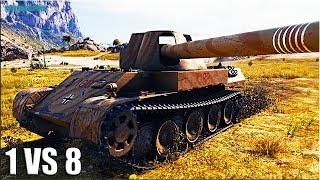 Skorpion G против ВОСЬМЕРЫХ 🌟 ЧИТЕРСКАЯ ПОЗИЦИЯ World of Tanks